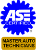 ASE Certified Master Auto Technicians Logo