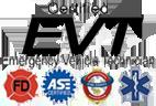 Certified EVT Emergency Vehicle Technician Logo