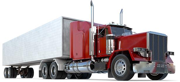 18 Wheeler Semi Truck